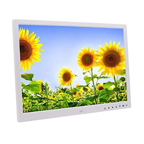 FLYWM Digital Photo Frame-Zoll eingebauten Lithium-Akku HD Touch-Taste elektronischer LED Album Wand-Werbung Maschine