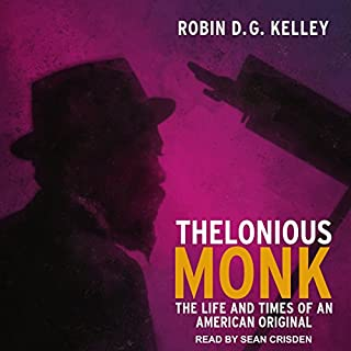 Thelonious Monk audiobook cover art