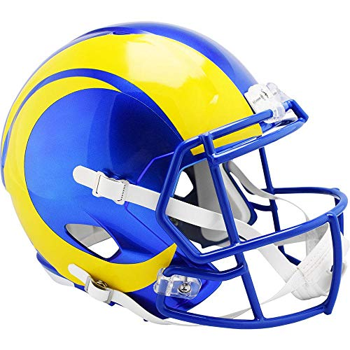LA Rams 2020 Officially Licensed Speed Full Size Replica Football Helmet