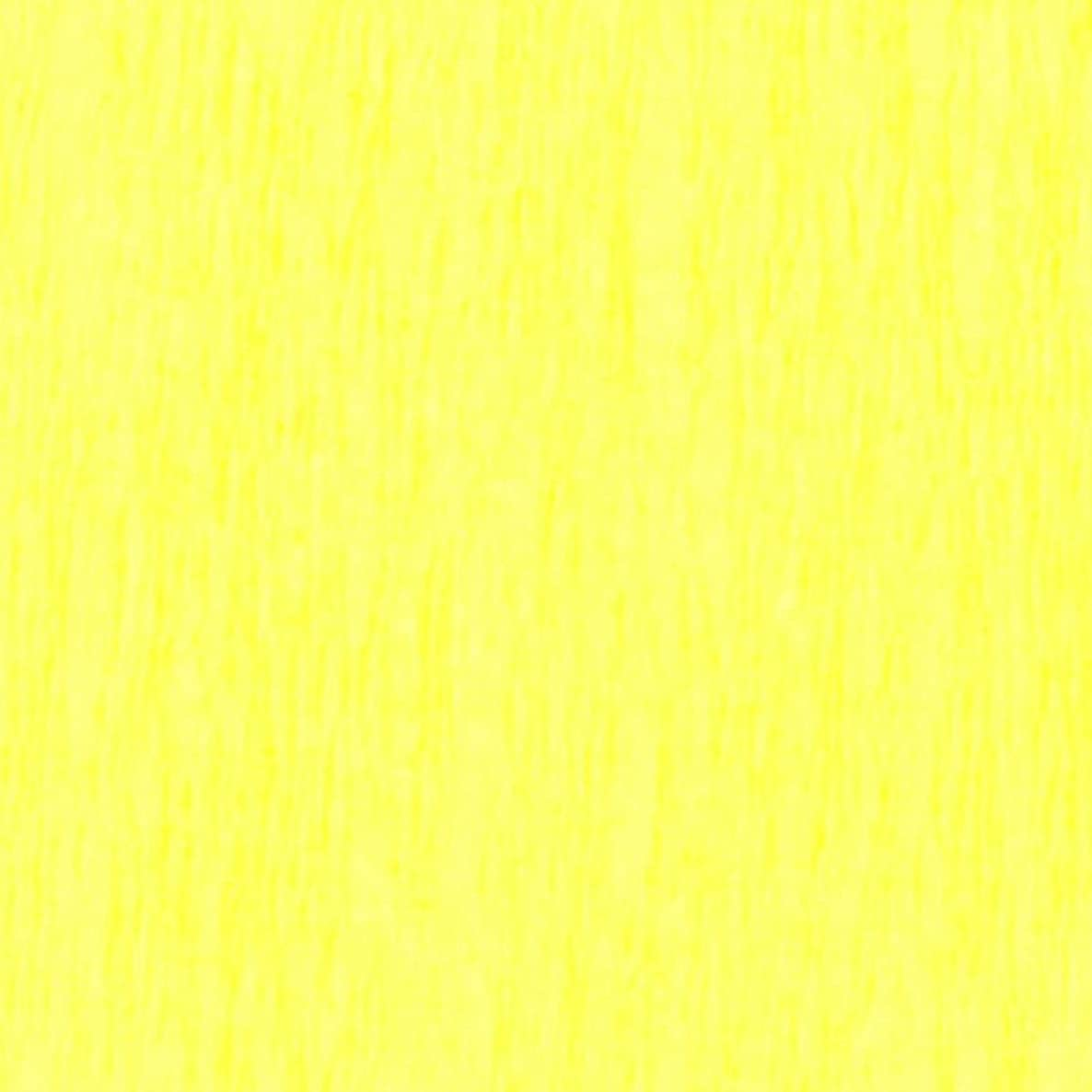 Clairefontaine Non-Bleeding Crepe Paper, 32 g, 2.5 x 0.50 m, Yellow