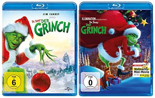 Der Grinch + Der Grinch als Animationsfilm im Set (2 Blu-ray)