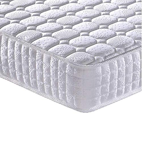 Full Mattress - Vesgantti 9.4 Inch Innerspring Multilayer Hybrid Full Mattress - Ergonomic Design with Breathable Foam and Pocket Spring Mattress Full Size - Tight Top Series Medium Plush Feel