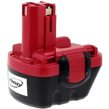 12.0v Aboutbatteries 3000mah Tipo de bater/ía bosch 2607335463 ni-mh