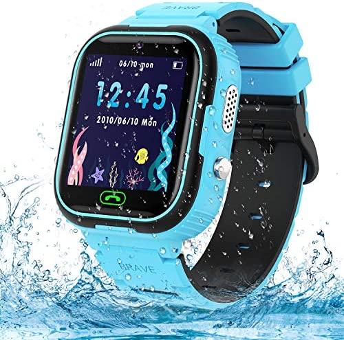 Kids Smart Watch Phone IP67 Waterproof GPS Tracker Smartwatch for Kids HD Touch Screen Game product image