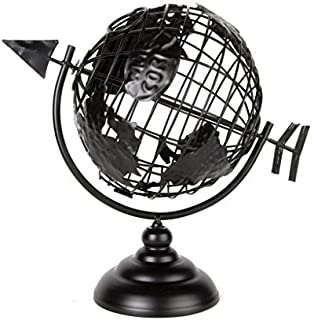 Home-X - Globe Style Wine Cork Holder, Perfect Addition to Any Wine Connoisseurs' Patio or Kitchen Decor Collection, Holds About 50 Corks, Classic Globe Shaped