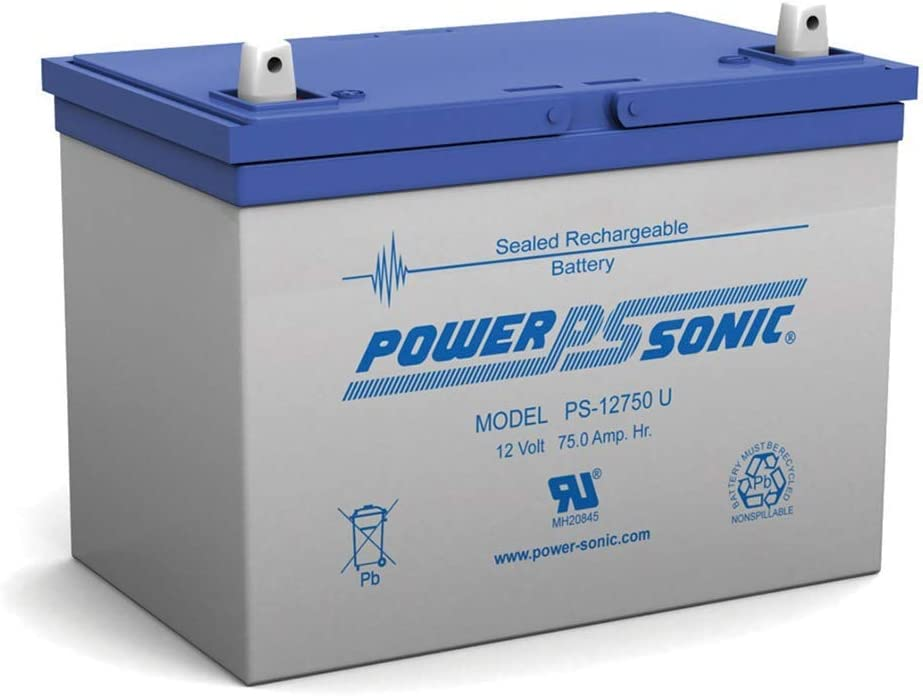 Power Sonic 12V Chicago Mall 75Ah SLA Mobility Replacement Sale special price Battery Pride for
