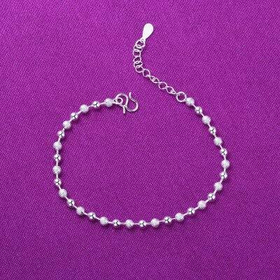 DJMJHG Pulseras y brazaletes con dijes de corazón de Estrella de Plata de Ley 925 para Mujer, joyería de Boda, bisutería, Regalos3
