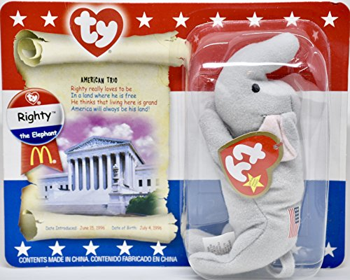 McDonalds Beanie Babies American Trio by Ty