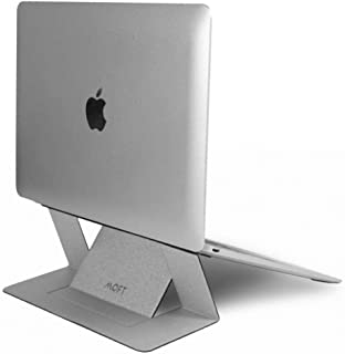 Adhesive Laptop Stand sliver For Laptops Up To 15.6-Inch