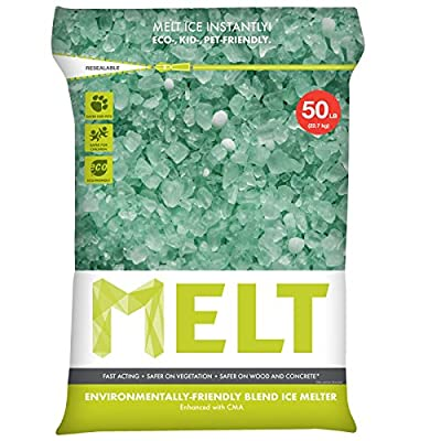 Snow Joe Premium Environmentally-Friendly Blend Ice Melter w/ CMA