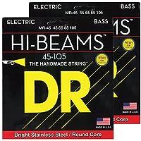 DR ベース弦 HI-BEAM ステンレス .045-.105 MR-45 2SET