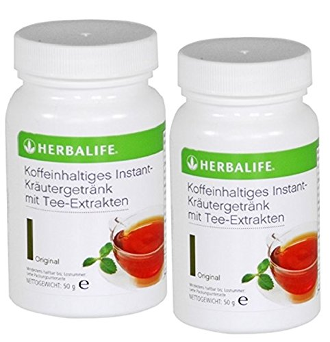 Herbalife instant-drank met thee-extracten 2 x 50 g, smaak vrij te kiezen