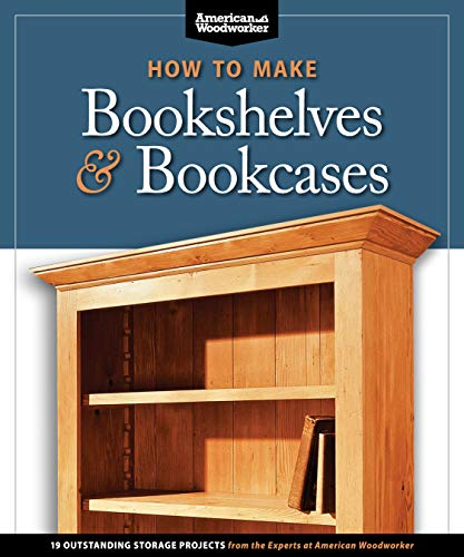How to Make Bookshelves & Bookcases: 19 Outstanding Storage...
