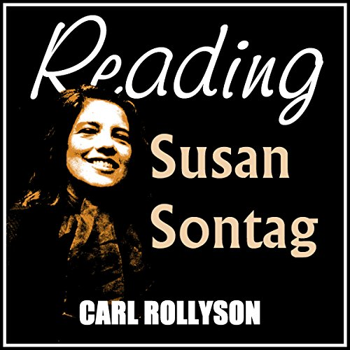 Reading Susan Sontag audiobook cover art