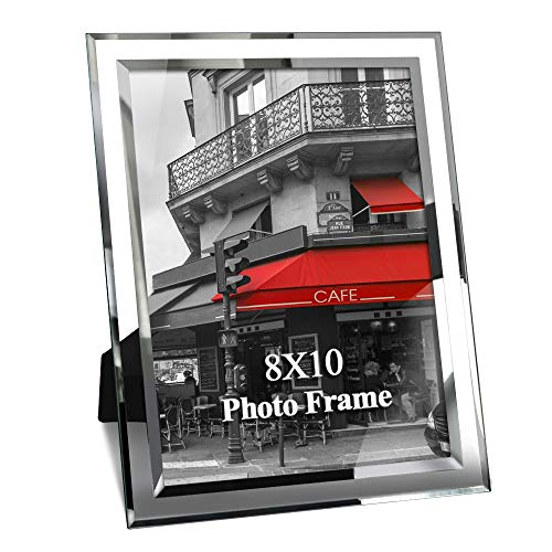Giftgarden Cornice per Foto in Vetro Trasparente Decorazione per Casa Cornice 20x25 cm