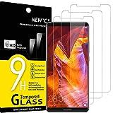 NEW'C 3 Pezzi, Vetro Temperato Compatibile con Huawei Mate 10 PRO, Pellicola Prottetiva Anti Graffio, Anti-Impronte, Durezza 9H, 0,33mm Ultra Trasparente, Ultra Resistente