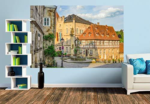 Premium Foto-Tapete Blick aud den Melchior Otto Platz (versch. Größen) (Size M | 279 x 186 cm) Design-Tapete, Wand-Tapete, Wand-Dekoration, Photo-Tapete, Markenqualität von ERFURT