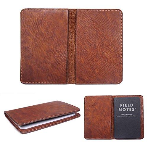 marycrafts handgefertigt nachfüllbar Leder Zusammensetzung Notebook Moleskine Cover, Feld Note Abdeckungen 8,9x 14cm