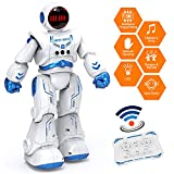 Sweet Alice Astronaut Robot Toy for Kids, Boy& Girl Gifts for 3+ Years Old Kid RC Robot Toys with Remote Control& Gesture Sensing, Programmable Smart Sensing Music Robot Toys