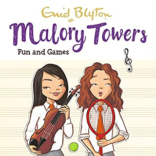 Malory Towers: Fun and Games     Malory Towers, Book 10              By:                                                                                                                                 Enid Blyton,                                                                                        Pamela Cox                               Narrated by:                                                                                                                                 Esther Wane                      Length: 4 hrs and 58 mins     20 ratings     Overall 4.8