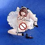 Xlyasky PVC Handmade Statue Model Native Bonding Anime Girl Figure Stand Fetish Boy Mao PVC Action Figure Japanese Adult Model Toy Doll Gifts