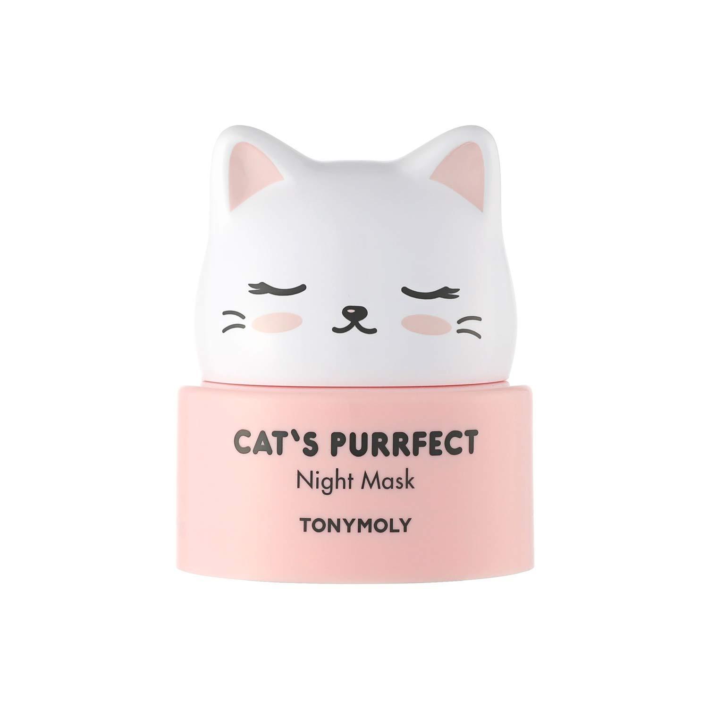 TONYMOLY Cat's Purrfect Night Mask, 50 g.