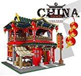 inFUNity Ancient Chinese Pub City Modular Building Sets for Adults (3267 PCS) Bricks Compatible with Major Brands