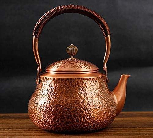 Funmaker Handmade Solid Copper Tea Kettle Th Teapot Max 47% OFF Stovetop SALENEW very popular Pot