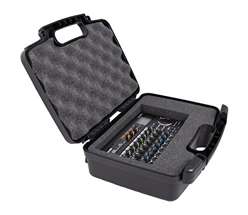 For Sale! Casematix Pro Audio Equipment Hard Case with Foam Compatible with Roland VT-4, Super UA, R...