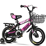 MOLINGXUAN Mountain Bike, Bici per Bambini 12 Pollici 14 Pollici 16 Pollici Nuovo Mountain Bike Pedale,4,16 Inches