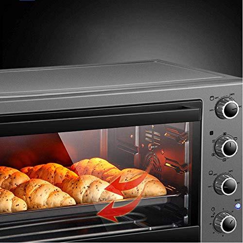 51OAxNVHGrL - Wghz Pizzaofen Brotbackmaschinen, Elektroofen Backen Multifunktional Automatik 60 Liter Großraum Multifunktionsfrühstück Sandwich Elektroofen