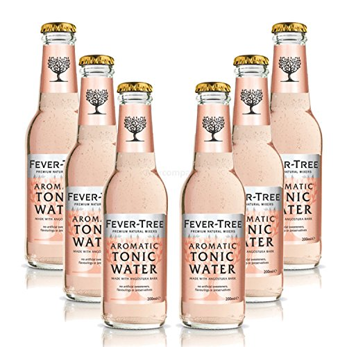Fever-Tree Aromatic Tonic Water Set- 6x200ml inkl. Pfand MEHRWEG = 1200ml inkl. Pfand MEHRWEG