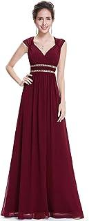 Ever-Pretty Women's Elegant V-Neck Sleeveless Formal Long Evening Dress 08697