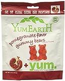 Yumearth Organics Organic Gummy Bear, Pomegranate, 5 Ounce