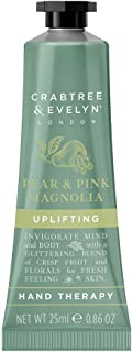 Crabtree and Evelyn Pear and Pink Magnolia Uplifting Hand Therapy for Unisex - 0.86 oz, 22.68 Grams