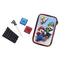 Grande custodia rigida per New 2DS XL / 3DS XL / 3DS XL / 3DS XL con motivo Super Mario Con due pellicole protettive per display. Pennino Super Mario incluso nel set. Due custodie per proteggere i vostri giochi dallo sporco durante gli spostamenti. P...