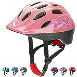 KAMUGO Kids Bike Helmets, Toddle Helmet for Ages 5-7 Boys Girls, Adjustable Multi-Sport Skating Scooter Bicycle Helmet...