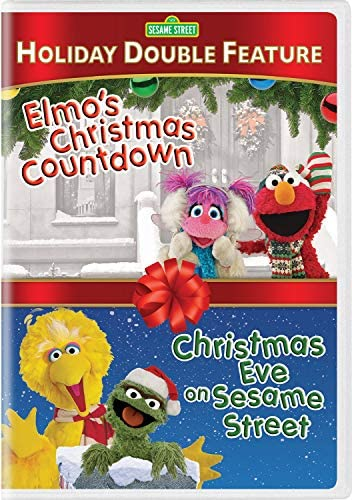 Sesame Street Holiday Double Feature Elmo s Christmas Countdown Christmas Eve on Sesame Street product image