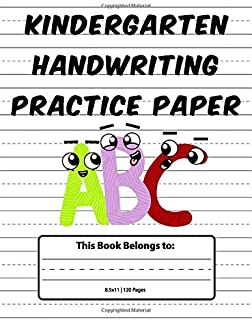 preschool handwriting sheets