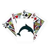 Blue Ocean Docile Jump Dolphin Poker Juego de cartas mágicas