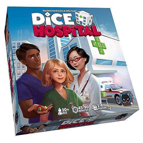 Alley Cats Games ALDICEHOS01 Dice Hospital, Mixed Colours (Toy)