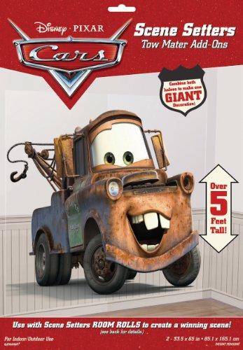 Disney Amscan Cars Abschleppzähler Szeneneinstellung