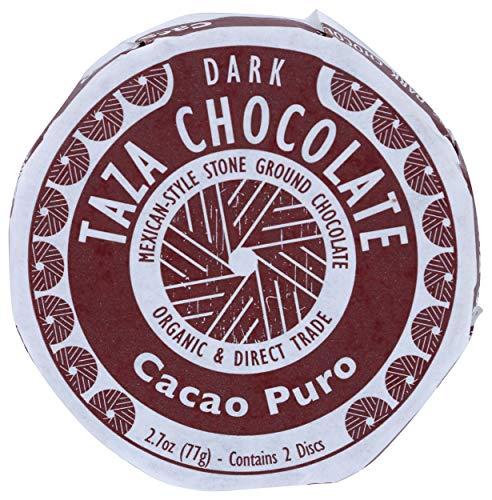 Taza Chocolate Organic Mexicano Disc 70% Dark Chocolate, Cacao Puro, 2.7 Ounce (1 Count), Vegan