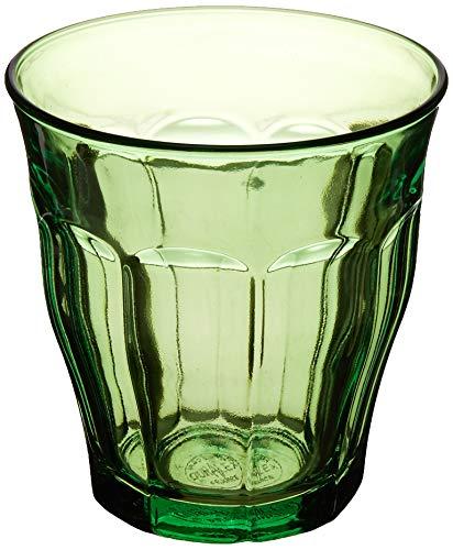 Duralex - Juego de 6 vasos (25 cl), color verde
