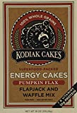 Kodiak Cakes Pumpkin Flax Energy Cakes superfood Protein Packed All Natural, Non GMO Protein Pancake, Flapjack & Waffle Mix 18 oz