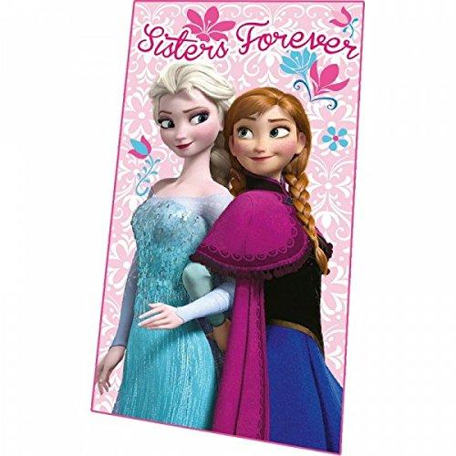 Disney - Frozen - Couverture Polaire ROSE Anna & Elsa reine des neiges