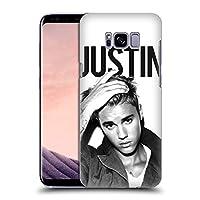 オフィシャル Justin Bieber Calendar ブラック&ホワイト Purpose Samsung Galaxy S8+ / S8 Plus 専用ハードバックケース