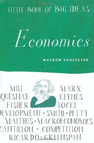 Little Book of Big Ideas: Economics (Little Book of Big Ideas series)