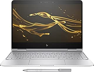 HP Spectre X360 13-ac076nr (Natural Silver) - Intel Core i7-7500U 2.70GHz - 16GB RAM - 512GB SSD - Intel HD Graphics 620 - Win 10 Home 64-bit - 13.3in 1920x1080 Touch (Renewed)
