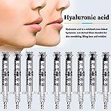 QIYE 0.3ML Hialurónico Pluma de ácido de inyección Anti Arruga Labio De Relleno Levantamiento Atomizador Labios Inyectables Dérmicos Kit, 138 PCS